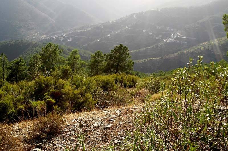 Valle del rio Hurdetano
