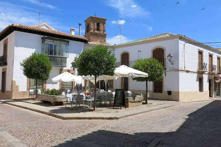 Villanueva de los Infantes Plaza Dr Alberdi