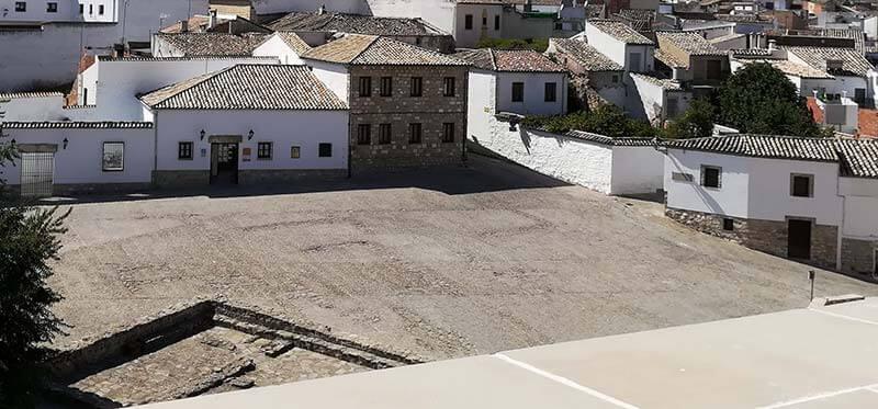 Sabiote plaza del Castillo