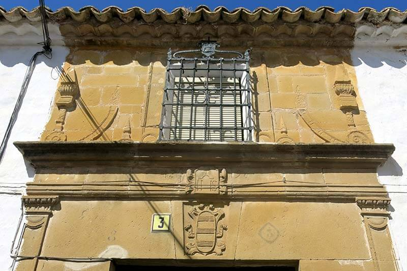 Sabiote Casa Palacio de los Messía