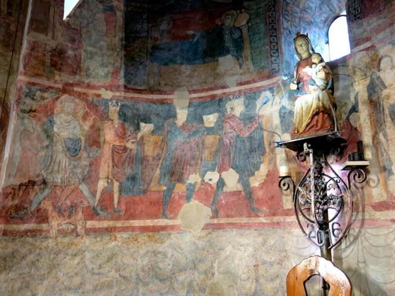 Iglesia románica de Santa María de Barberà del Vallès - Ábside central