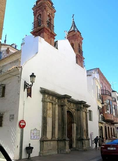 Priego de Cordoba Iglesia de las Mercedes