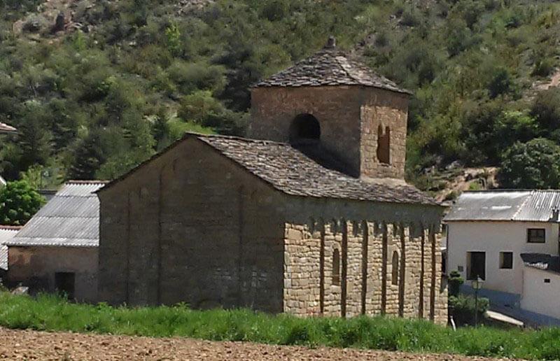 Santa Cruz de la Serós, San Caprasio