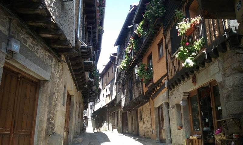 La Alberca calle La Puente