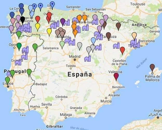 Mapa-implantació-cistercenca
