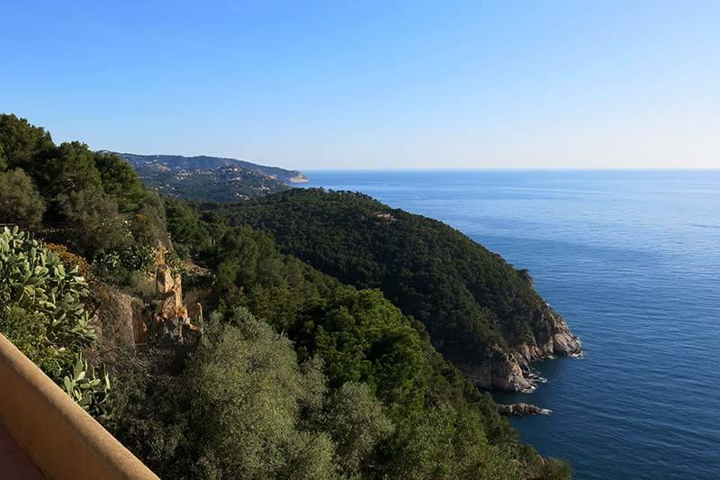 Panoramica des de Sant Sebastià de la Guarda