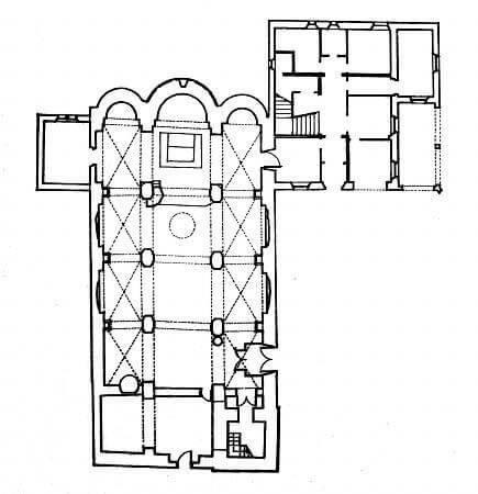 St Andreu de Sagàs Planta