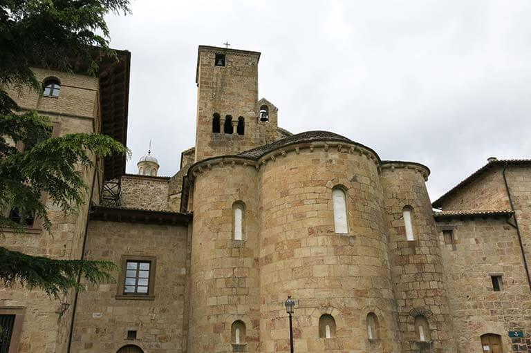 Monasterio de Leyre, Absides