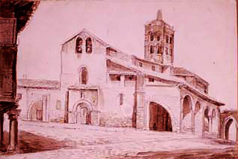 Valentin Cardedera, Iglesia de Santa Maria del Camino, Fondo Carderera 9138