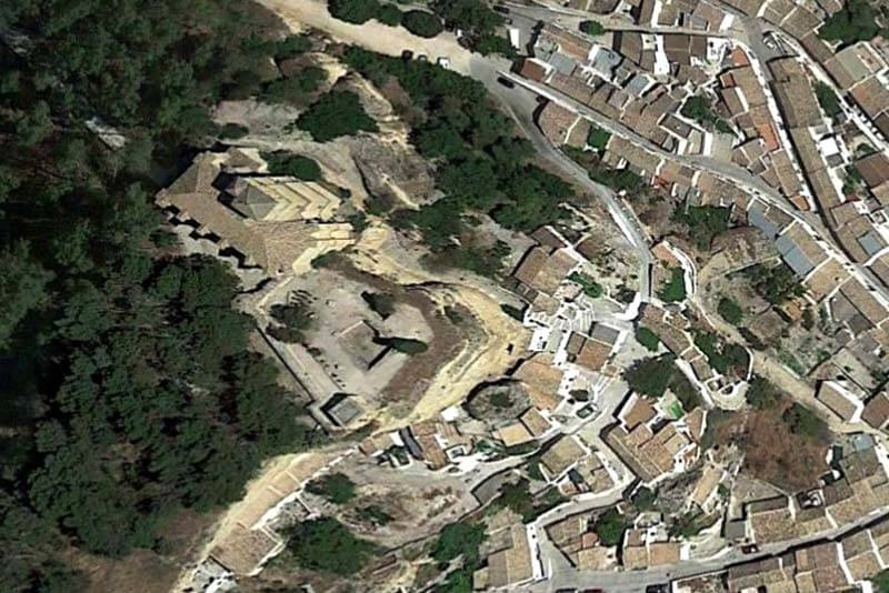 Montefrio castillo (Google earth 2019-01-10)