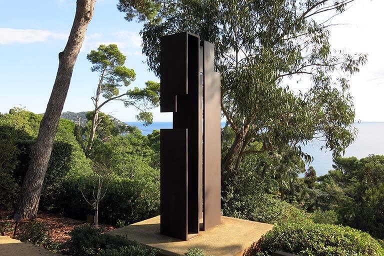 """Jardins de Cap Roig Calella de Palafrugell Juan de Andrés """"Variaciones"""""""