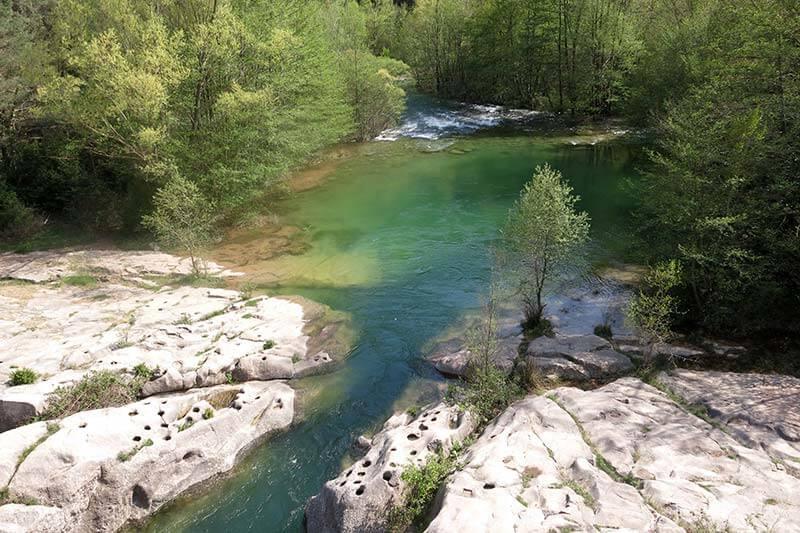 Riu Llobregat des del Pont de Pedret