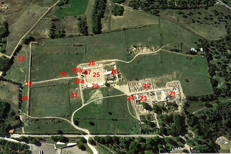Emporiae Ciutat Romana (Google earth 2020-02-24)