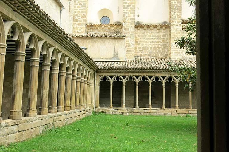 Claustro del convento de San Francisco de Asís de Sangüesa (Navarra)