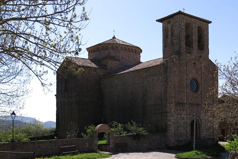 Sant Jaume de Frontanyà Església