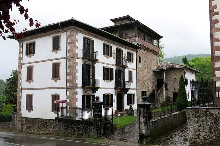 Irurita, palacio del Marqués de Casa Torre