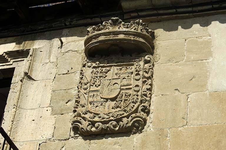 Palacio de los Vizcondes, Valoria la Buena, Valladolid