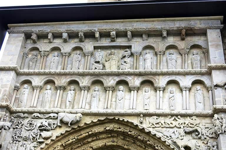 Sanguesa, Iglesia de Santa Maria la Real