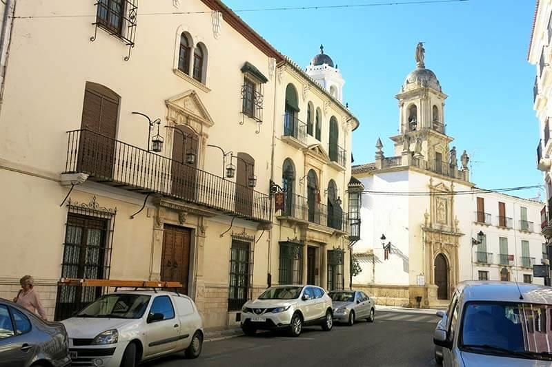 Priego de Cordoba Iglesia del Carmen