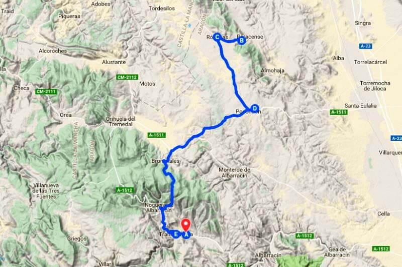 Sortida El Batán (Google maps 2018-05-30)
