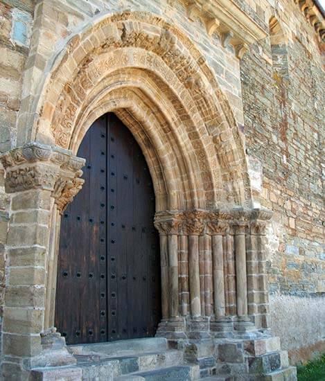 Villafranca del Bierzo Iglesia de Santiago