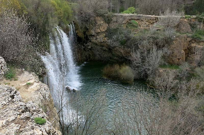 Cascada del molino de San Pedro rio Cabriel
