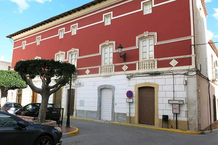 Sorbas. Almeria. Casa-palacio del duque de Alba