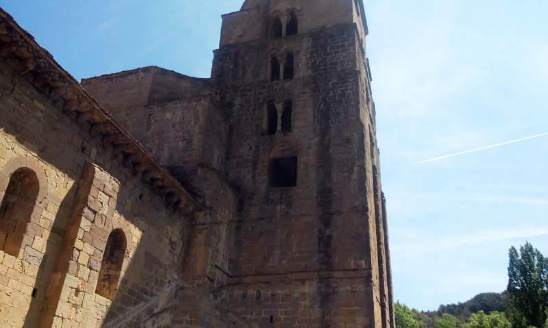 Santa Cruz de la Serós, Santa María