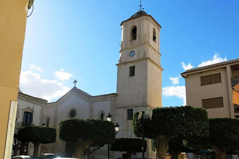 Sorbas. Almeria. Iglesia de Santa Maria