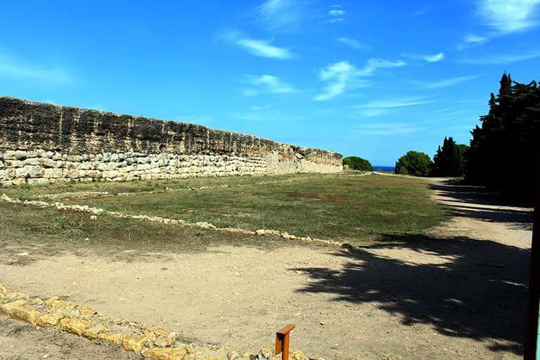 Empuries Ciudad romana