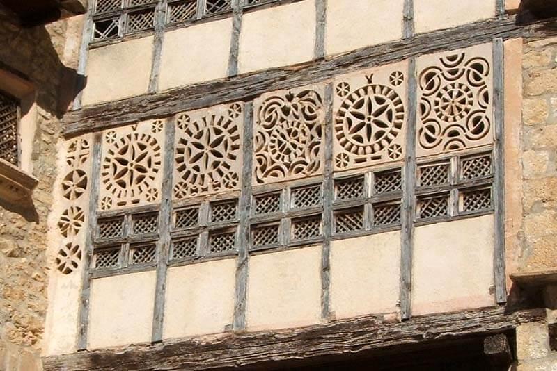 Mirambel Portal de las Monjas Celosia