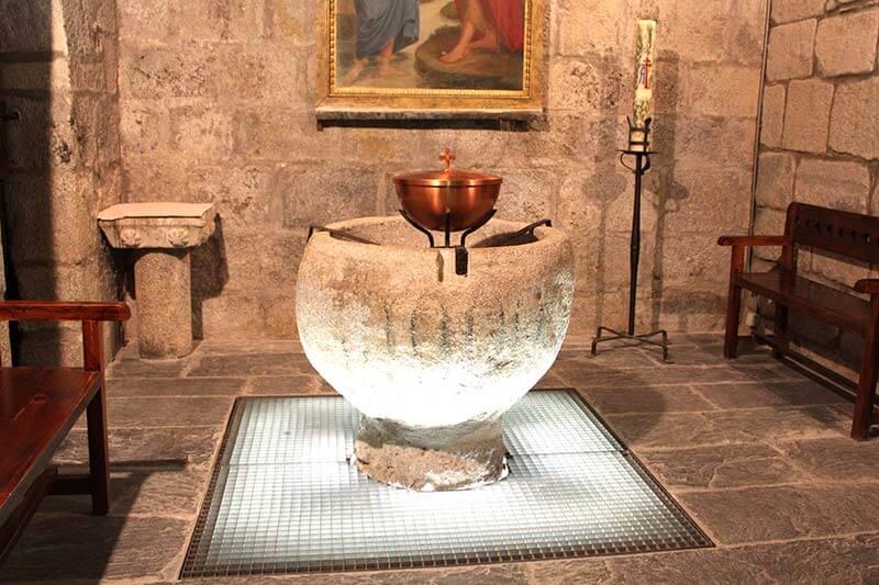 Pila bautismal Catedral de La Seu d'Urgell