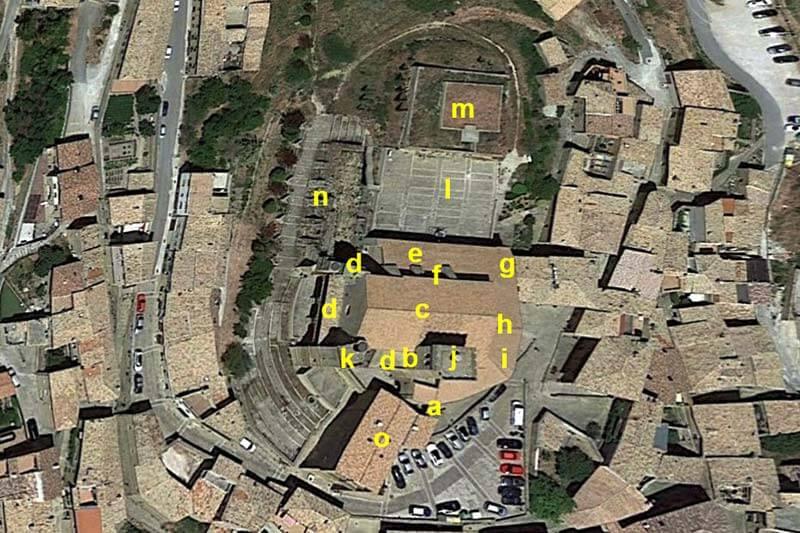 Ujue Iglesia-fortaleza (Google earth 2019-05-30)