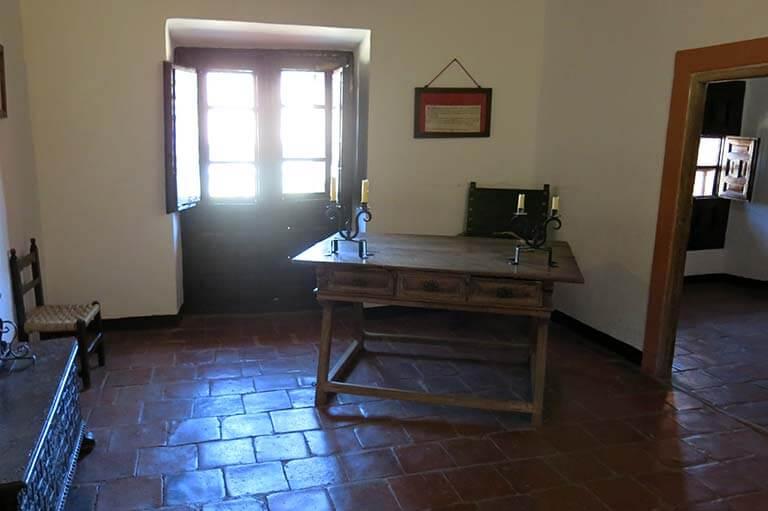 Villanueva de los Infantes Celda de Quevedo