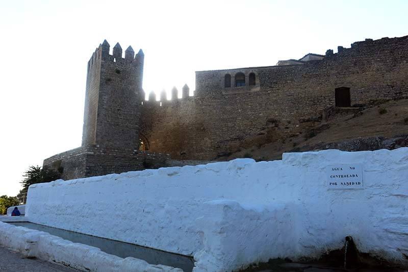 Sabiote muralla Fuente del Chiringote