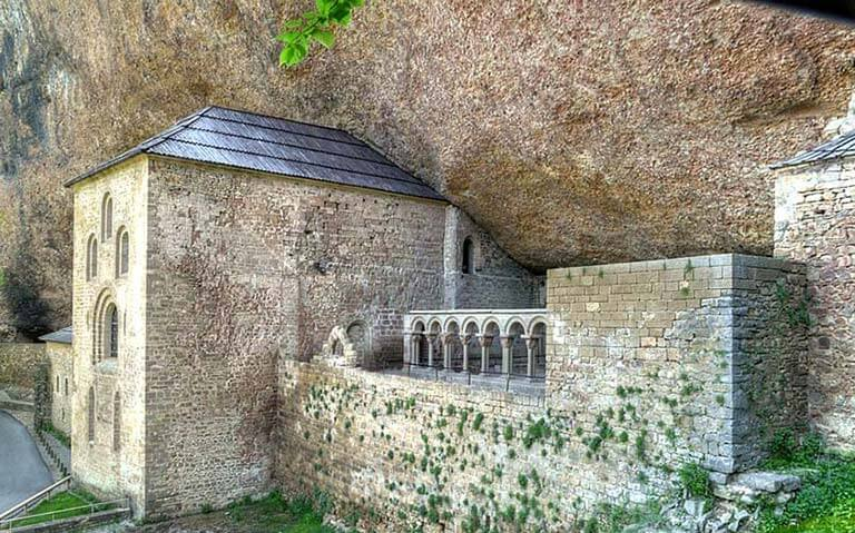 Monasterio de San Juan de la Peña (Huesca) (Foto Archivo del Gobierno de Aragón)