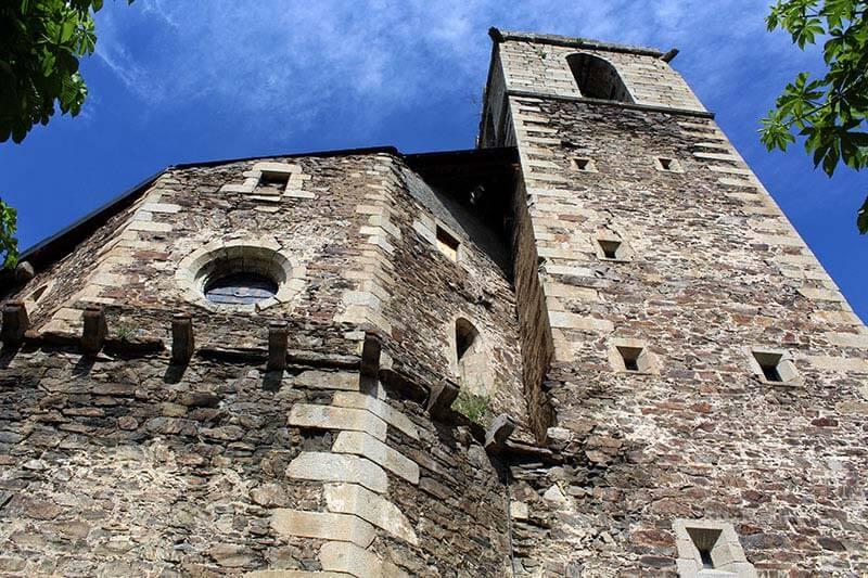 Llivia, Esglesia de la Mare de Deu dels Angels