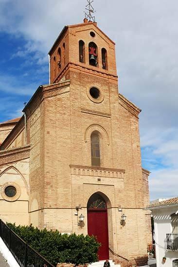 Lubrin, Almeria. Iglesia Ntra Sra del Rosario