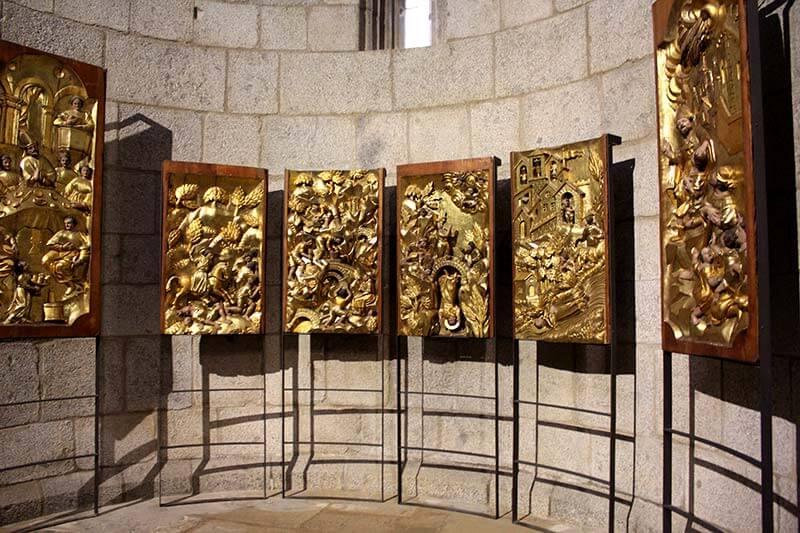 Fragments del retaule de Sant Ermengol. Catedral de La Seu d'Urgell