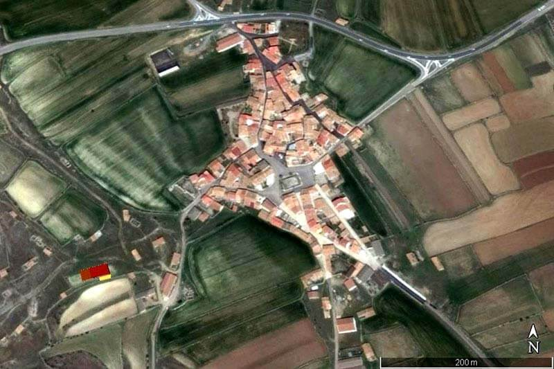 Pozondón (Google earth 2018-12-28)