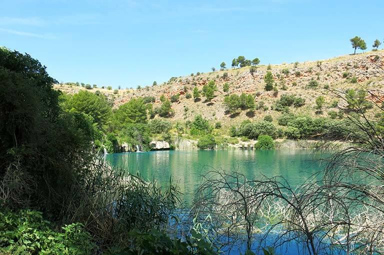 Lagunas de Ruidera Laguna Colgada
