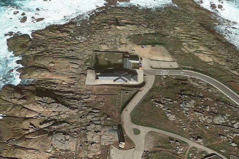 Punta da Barca, Muxia - Google-earth-2018-03-09