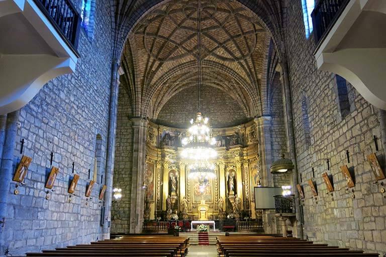 Bera Navarra Iglesia de San Esteban