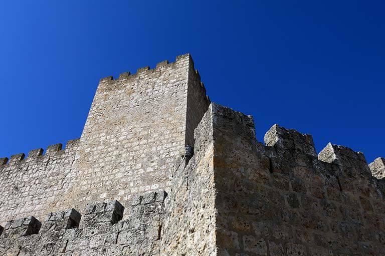 Castillo de Encinas de Esgueva. Valladolid