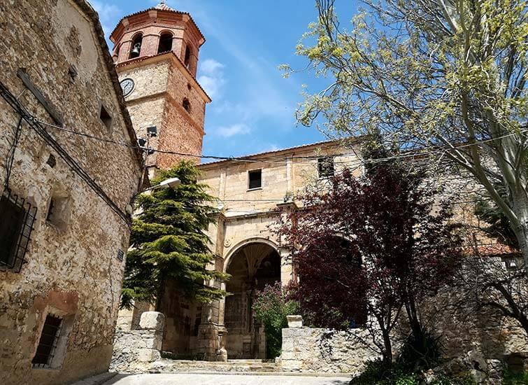 Iglesia parroquial del Salvador Terriente Teruel