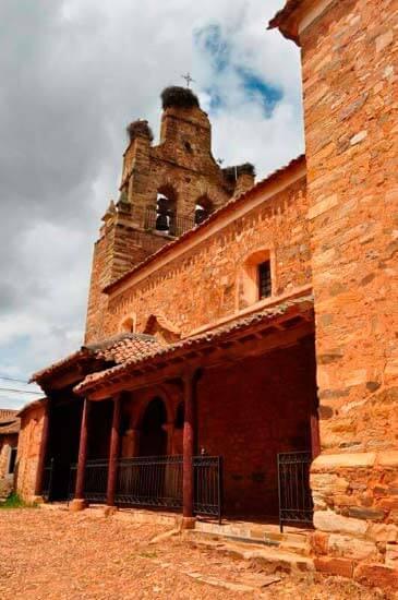 Iglesia de San Juan Bautista Castrillo de los Polvazares
