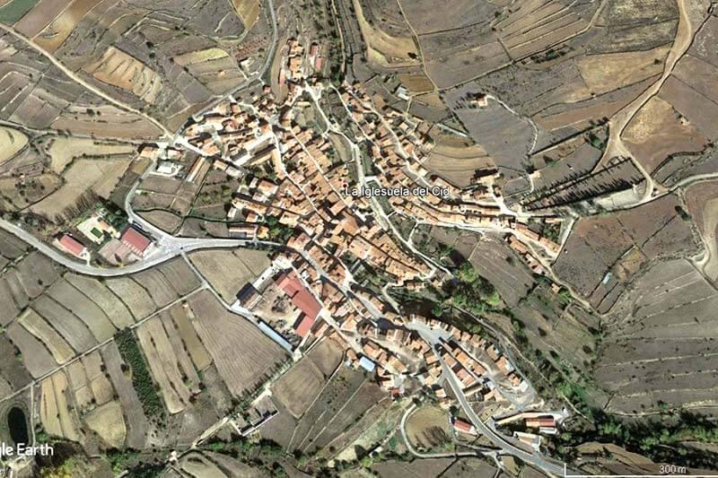La-Iglesuela-del Cid-(Google-earth-2018-09-11)