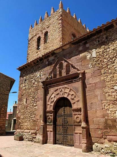 Pozondon Iglesia de Santa Catalina