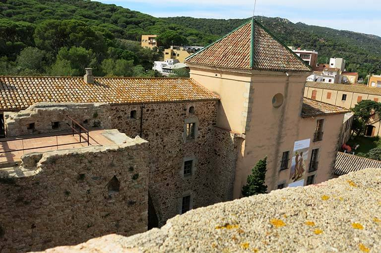 Sant Feliu de Guixols, Girona, Torre del Fum, Panoramica