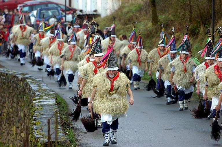 Zubieta Iture Carnaval joaldunak